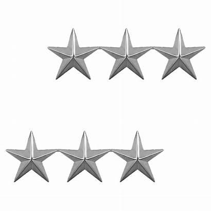 Stars Silver Three Tone Point Five Rank