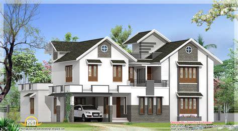 Modern 4 Bedroom Kerala Home Elevation  Kerala Home