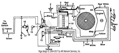 Cub Cadet Electrical Diagram For Solenoid by Mtd 148 800 190 Gt 1810 1988 Parts Diagram For