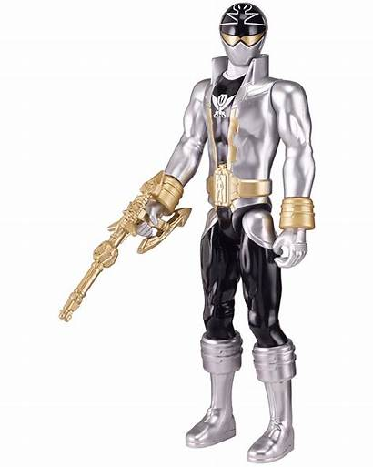 Silver Megaforce Super Power Rangers Figure Upc