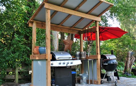 create  covered grill area youll love