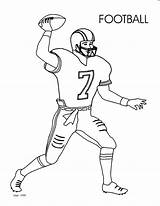 Coloring Pages Football Boys Soccer Players Printable Player Getcolorings sketch template