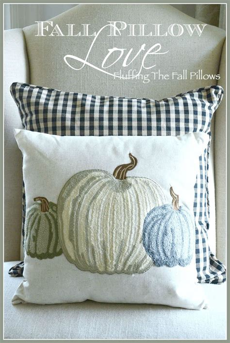 Fall Pillow Love Decorating For Fall With Pillows
