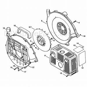 Stihl Br 380 Backpack Blower  Br 380  Parts Diagram  Fan