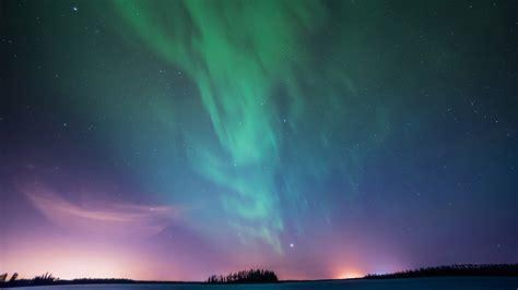 北极光星空夜晚风景壁纸高清大图预览1920x1080_风景壁纸下载_彼岸桌面