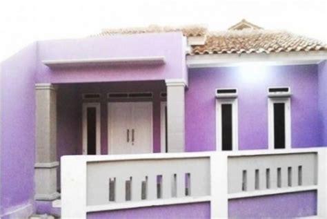 cat rumah ungu muda  inspiratif cat rumah minimalis