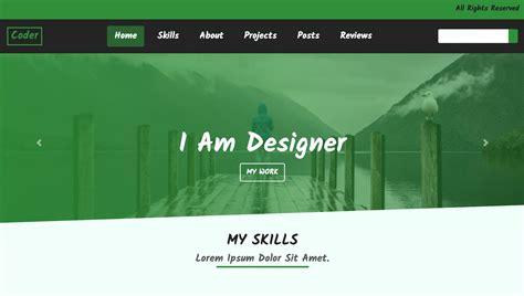 build  portfolio website  html cssbootstrap