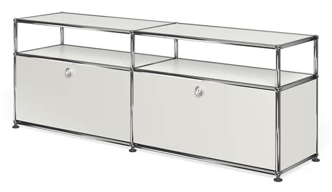 Usm Sideboard by Usm Haller Sideboard With 2 Doors Open Top