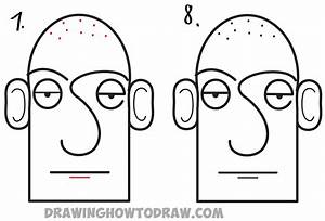 How to Draw a Cartoon Face in Easiest Way Ever - from the ...