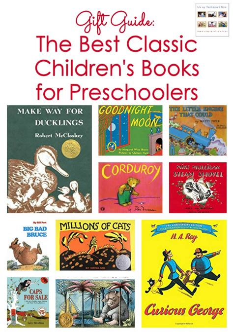 classic children s books archives living montessori now 773 | Gift Guide The Best Classic Childrens Books for Preschoolers 1