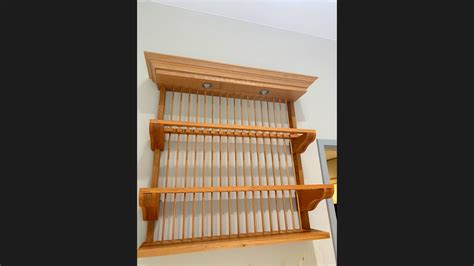 display wooden plate rack   kitchen company