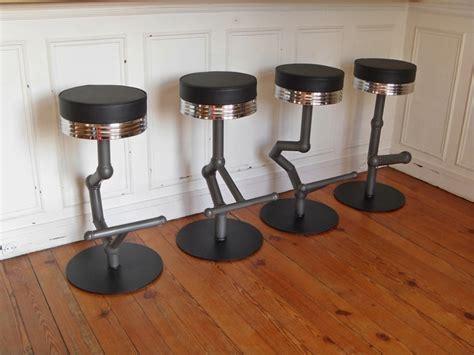 tabouret industriel de bar style and steel jpg chaises tabourets les luminaires