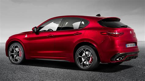 alfa romeo stelvio suv revealed at la auto show motoring research
