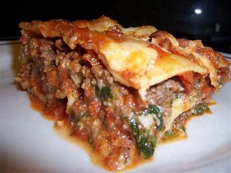 receta lasagna riquisima   facil recetas  cocina