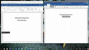 Chromebook And Microsoft Word