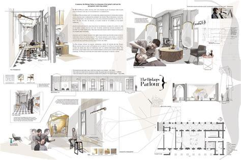Interior Architecture Portfolio Examples Imposing Title