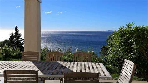 maison contemporaine a vendre a vendre maison contemporaine vue mer la croix valmer 83420 gigaro