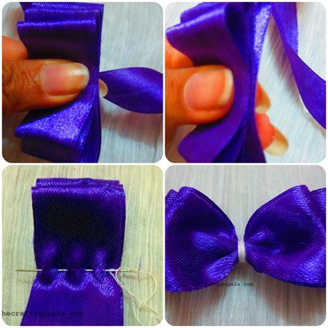 layered ribbon bows tutorial 12