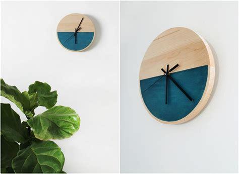 Bastelidee Fuer Kreative Wanduhren by Wanduhren Aus Holz Selber Machen Wohn Design