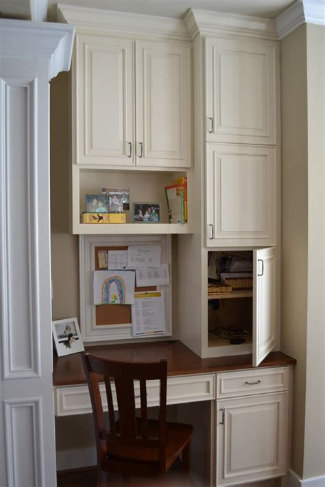 kitchen cabinet desk ideas marvelous computer desk with hutch in kitchen traditional
