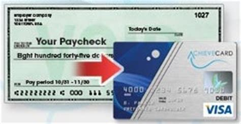 Please write legibly to ensure proper processing. Direct Deposit | Get Paid up to 2 Days Faster | AchieveCard