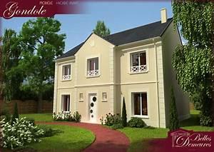 modele et plans bd gondole du constructeur belles demeures With plan de belle maison 9 gite felletin