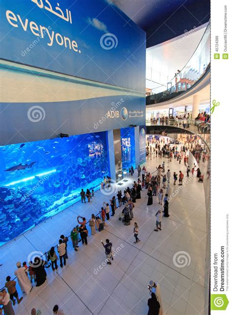 aquarium centre commercial dubai duba 239 mall le plus grand centre commercial du monde plus