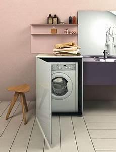 des meubles pour faire disparaitre le lave linge une With meuble salle de bain pour lave linge
