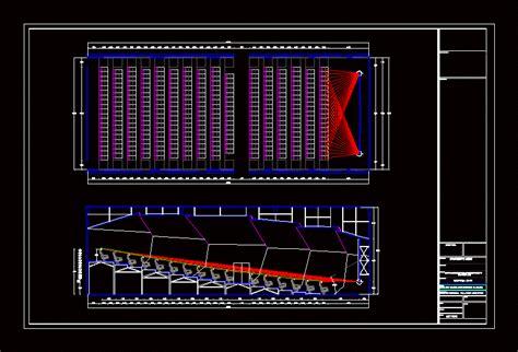 isoptic cinema  autocad cad   kb