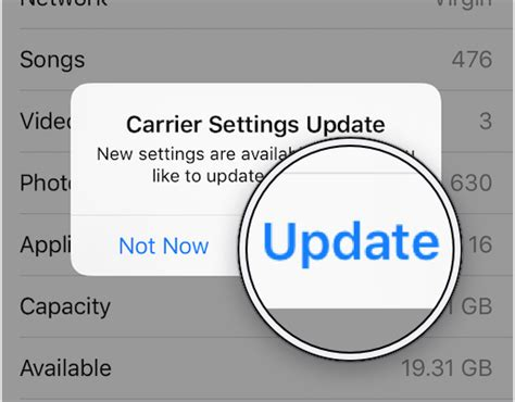 what are carrier settings for iphone what is quot carrier settings update quot on an iphone here s the