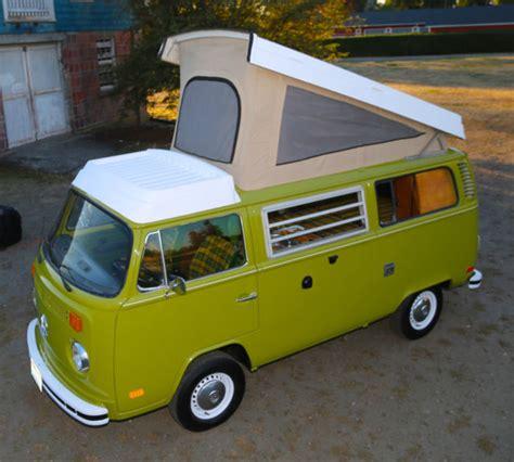 Westfalia Pop-top Camper Bus Van Vw Campmobile Riviera