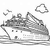 Cruise Ship Coloring Pages Rich Print sketch template