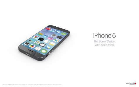 the new iphone 6 iphone 6 concept comes to from ios 7 features