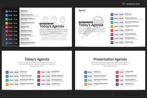 agenda meeting powerpoint template  powerpoint