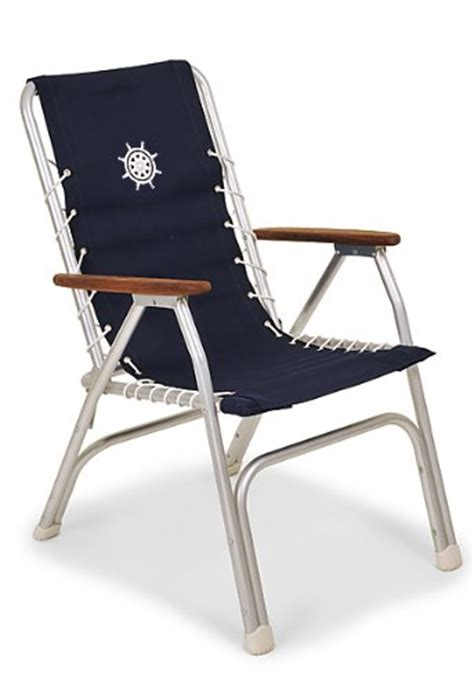 Boat Deck Chairs by Forma Marine High Back Deck Chair Boat Chair Folding