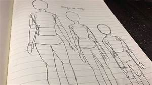 How To Draw Manga Body For Different Ages