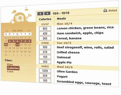 Calorie Counting Recipe Simple Mmm Say Organizer
