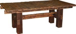 kitchen furniture edmonton barnwood dining table durango trail rustic furniture