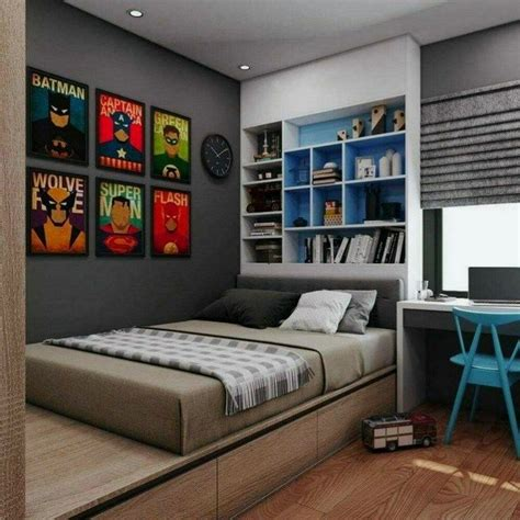 60 amazing cool bedroom ideas for guys small