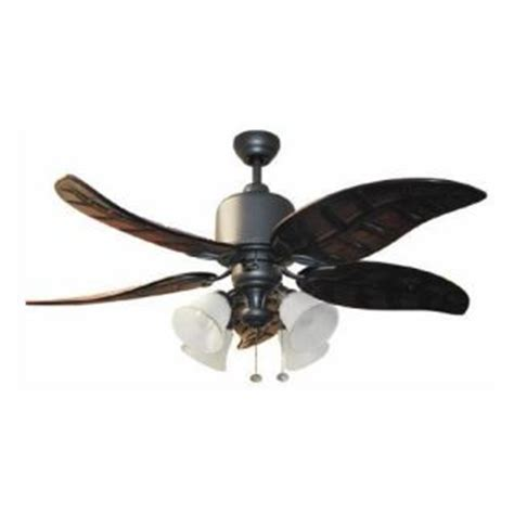 Litex Ceiling Fan Replacement Blades by Harbor 52 Tahoe Iron Ceiling Fan Indoor Outdoor