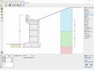 Stützmauer Kosten Berechnen : block st tzmauer geotechnische software geo5 fine ~ Themetempest.com Abrechnung