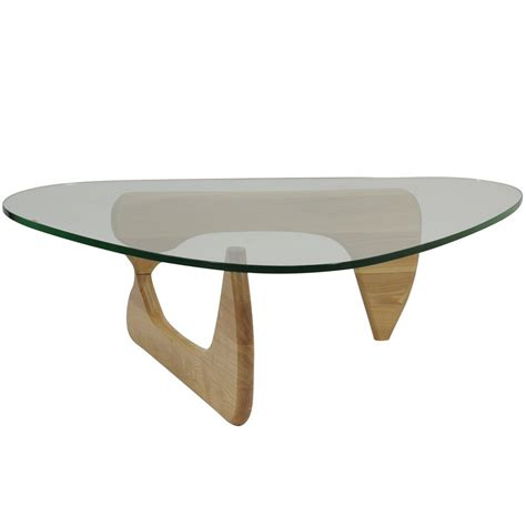 Nicos zographos designs ltd brushed stainless steel coffee table w/ glass top. Modway Triangle Natural Wood Glass Top Coffee Table at Hayneedle