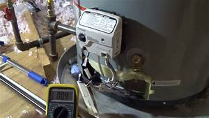 Bad Water Heater  Troubleshoot The Honeywell Gas Valve And The Thermostat