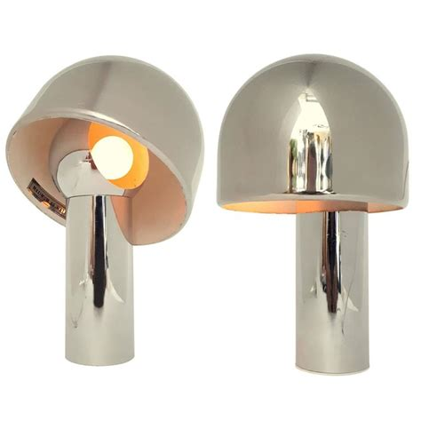 magnetic l shade jewelry pair of reggiani magnetic rotating shade chrome table l