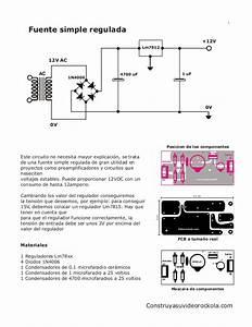 Diagrama De Conexi U00f3n  Y Una Fuente Simple Que Sirve Para Alimentar El U2026