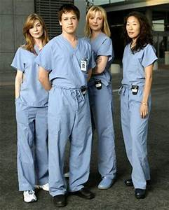 Meredith, George, Izzie, and Cristina....old Grey's ...
