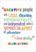 Inspirational Quotation Poster  Henri Matisse   Free Early Years      Creativity Quotes And Sayings