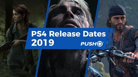 New Ps4 Games Releasing In 2019