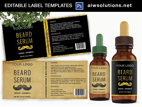 hand soap label template id aiwsolutions
