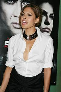 Inthesebikinis  Eva Mendes Braless And Nipple Slip Pictures